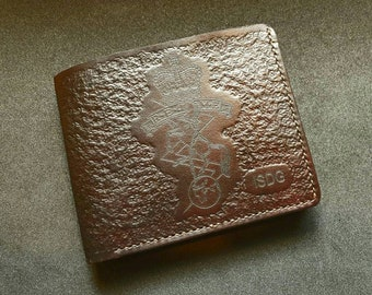 REME - Handcrafted Commemorative Leather Wallet