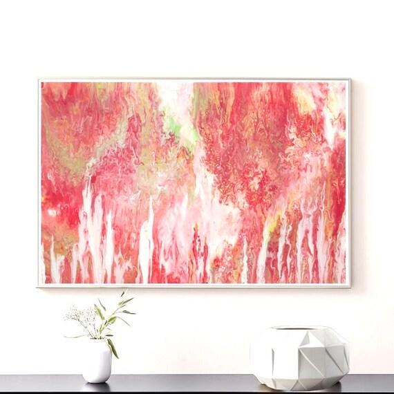 20x30 Painting on canvas original Large acrylic pour painting Acrylic pour painting on canvas Geode painting Pour painting on canvas