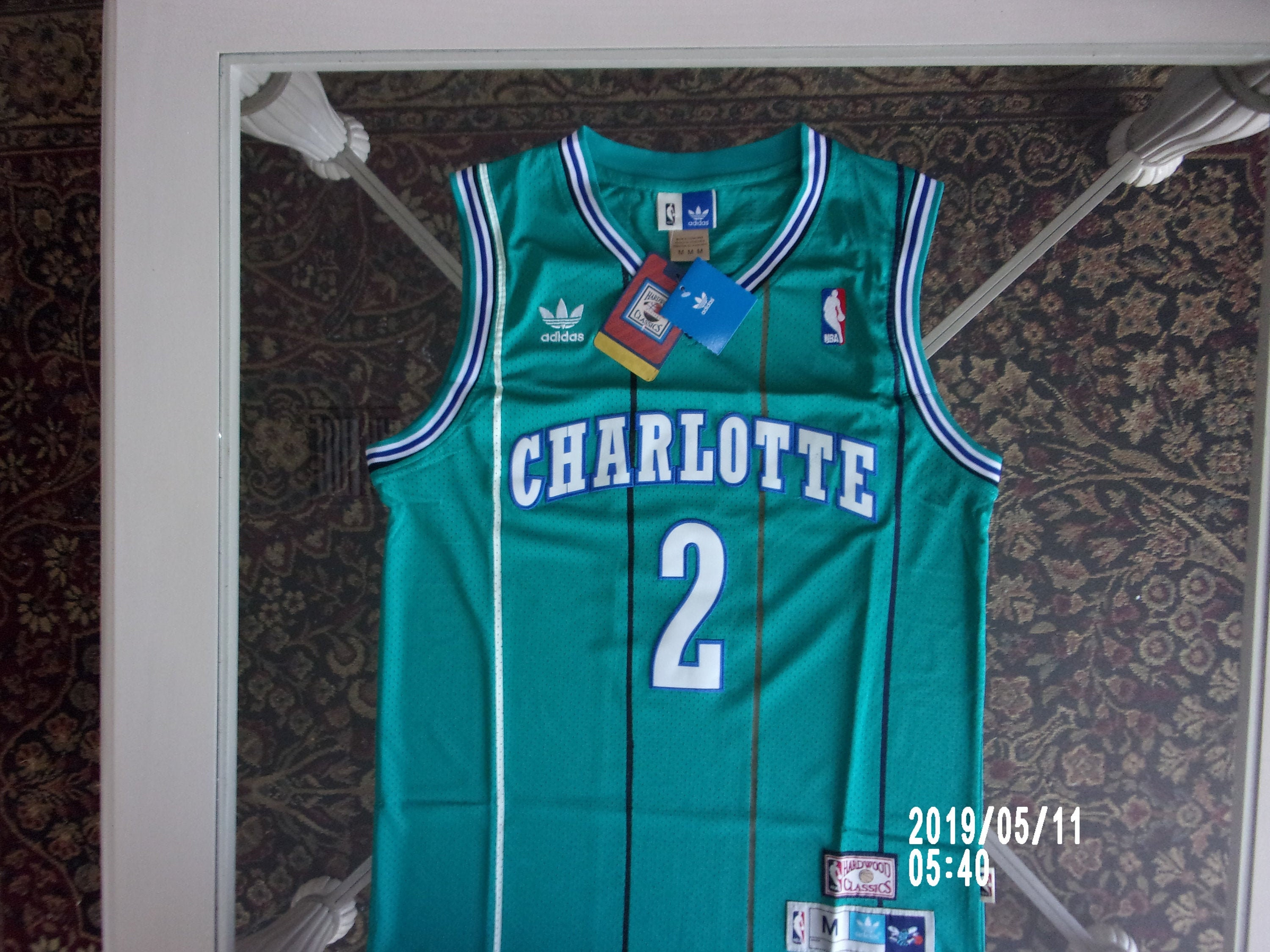 hornets throwback jersey