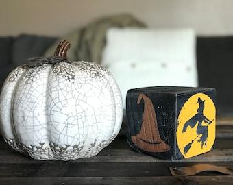 Halloween Decor Block
