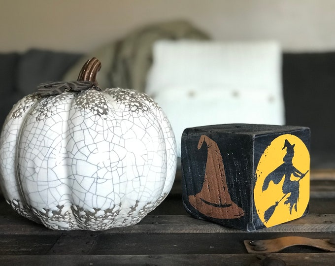 Halloween Decor Block