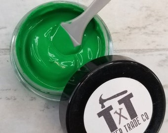 TTCO Chalk Paste SHAMROCK   For Silk Screen or Mesh Stencils, Cricut Stenciling, Craft Paint Projects, & Diy Sign Home Decor