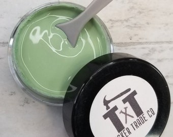 TTCO Chalk Paste SAGE   For Silk Screen or Mesh Stencils, Cricut Stenciling, Craft Paint Projects, & Diy Sign Home Decor