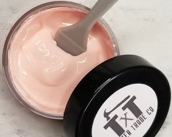 TTCO Chalk Paste BLUSH   For Silk Screen or Mesh Stencils, Cricut Stenciling, Craft Paint Projects, & Diy Sign Home Decor