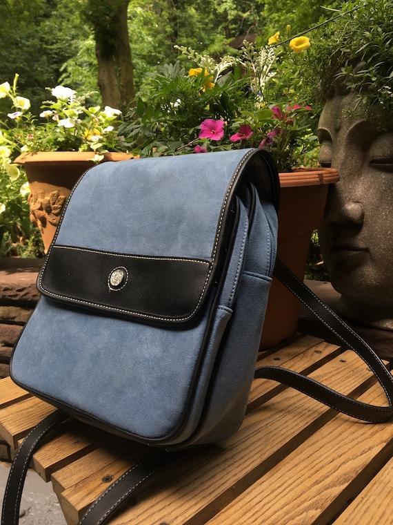 Vintage Liz Claiborne Blue Backpack