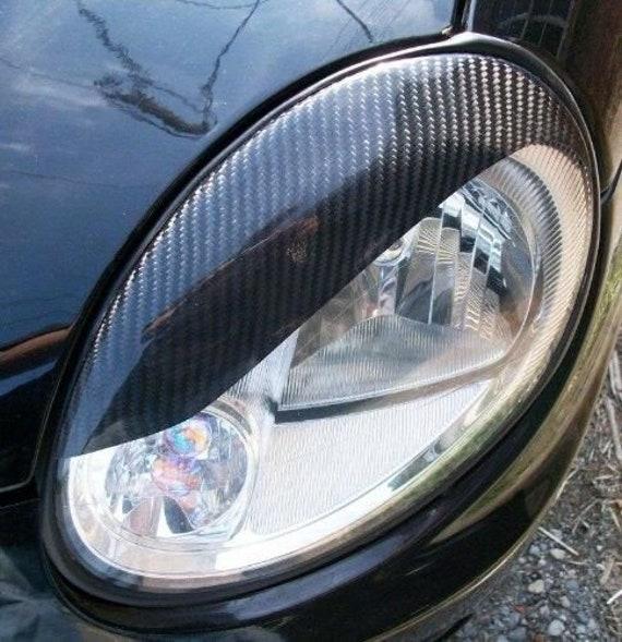 Porsche Cayman 987 Headlight Trim Rings Eyelids Vinyl Decals