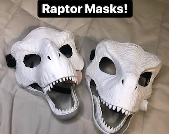Paint your own Raptor Mask
