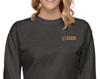 AABB Embroidered Unisex Fleece Pullover