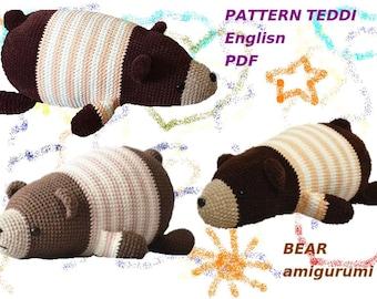 Ravelry: Teddy Bear Pillow pattern by Rajeshwari Singh | 270x340