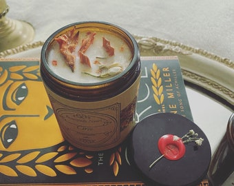 Circe inspired candle. Small batch and hand poured.