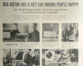 Vintage RCA Victor Camden 8 New Jersey Print Advertising Inventory 3043
