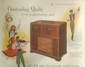 Vintage RCA Victor Victrola Print Advertising Inventory 3043