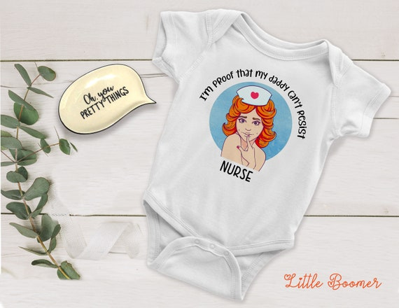DENTAL ASSISTANT BODY SUIT PERSONALISED DADDYS LITTLE BABY GROW GIFT