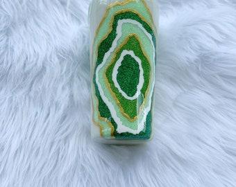Green Geode Tumbler