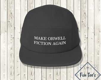 Make Orwell Fiction Again Pullover Unisex Political Protest Dystopian Book Lover