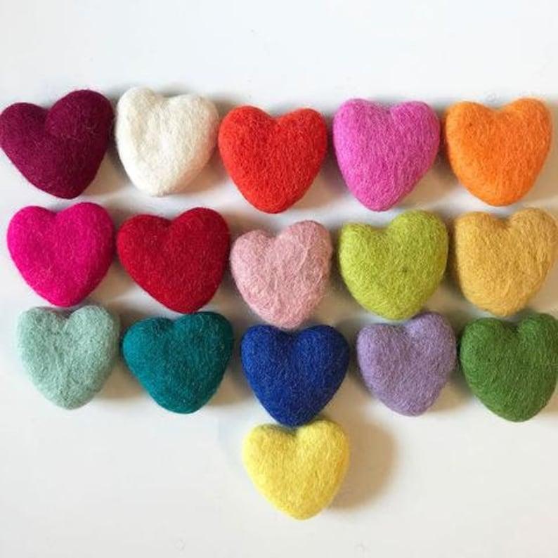 HEART FELT HEARTS pompom