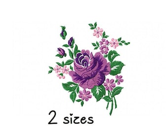 Roses Applique embroidery designs flowers embroidery design machine floral embroidery pattern file instant download towel embroidery design