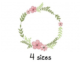 girly embroidery design machine embroidery pattern file instant download kids embroidery design Cute girl Frame embroidery designs