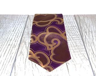 Violet Necktie For Wedding Violet Tie For Groomsmen  Bright Violet Necktie  Light Violet Men Necktie  Violet Color tie For Men