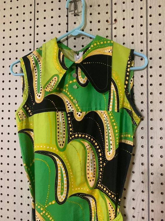 Vintage60s paisley dress