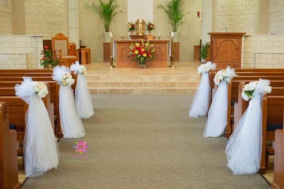 Wedding Pew Decorations Church Wedding Decorations Aisle Decorations Wedding Pew Flowers Wedding Pew Flowers Aisle Flower Wedding Pew Decor