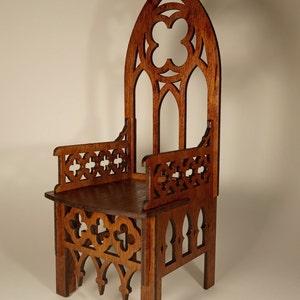 "Gothic Rail for Dolls 16-18/"" 1//4 BJD tonner wood furniture OOAK Catholic"