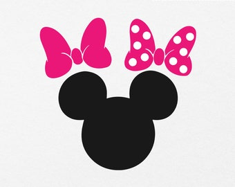 minnie mouse svg