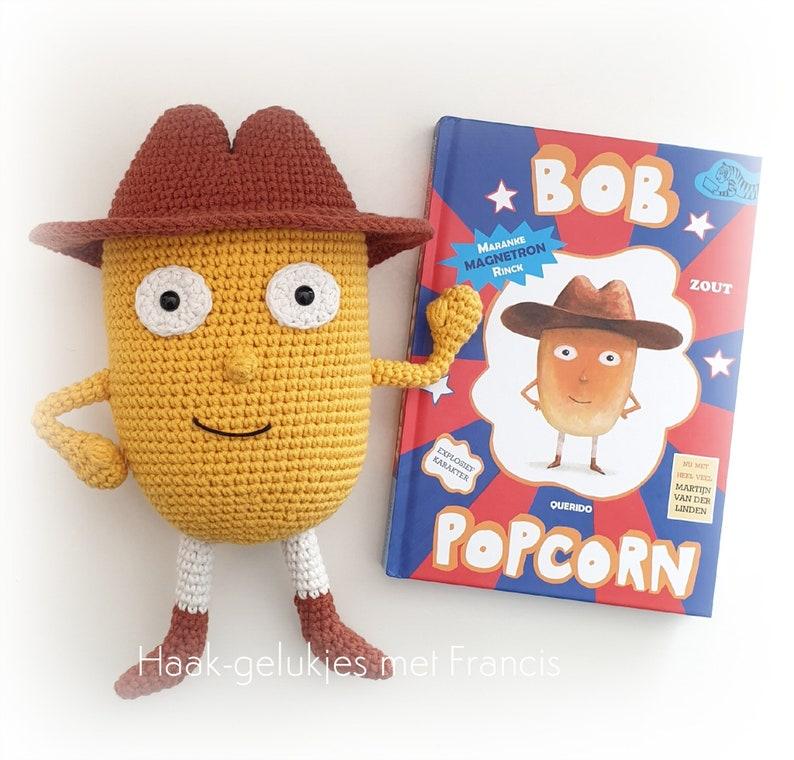 Bob Popcorn haakpatroon amigurumipattern crochetpattern image 1