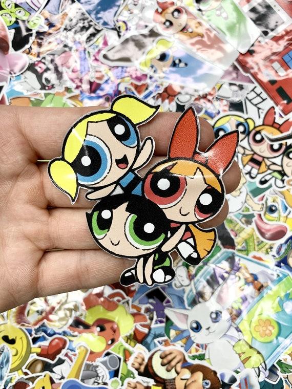 "Powerpuff Girls Mojo Jojo  Cartoon Vinyl Sticker Decal 4 Pack of 4/"""
