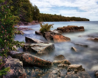 Original METAL Print - Lake Forest Long Exposure Canada