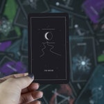 Synesthesia Tarot - 78 card Tarot deck with magnetic box and silver foil