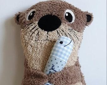Otter, Cuddly Otter, Cuddly Animal,