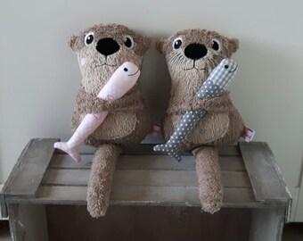 Mini Otter, Cuddly Otter, Cuddly Animal,