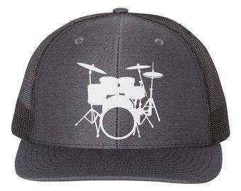 LLeaf Drumsticks Vintage Drummer Drummer Men/&Women Adjustable Baseball Caps Denim Fabric Sun Hat