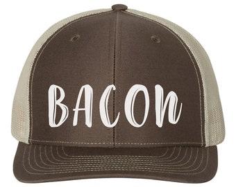 Im Not Bacon Funny Pig Outdoor Snapback Sandwich Cap Adjustable Baseball Hat Trucker Cap