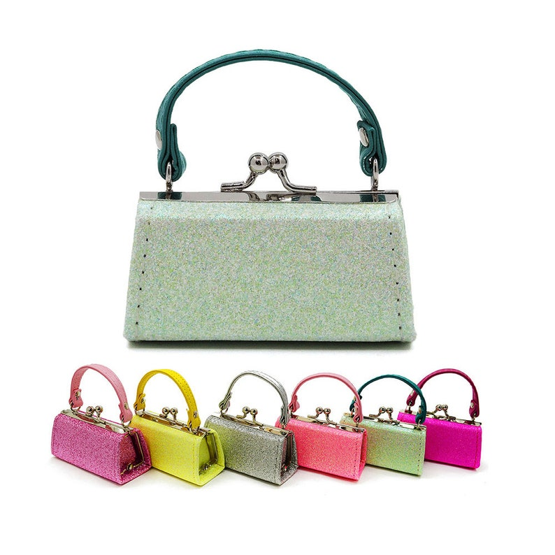 6 colors to choose~ Colors mini Purse Amore Jewell mini coinlidstick purse perfect Christmas gift Birthday gift collection