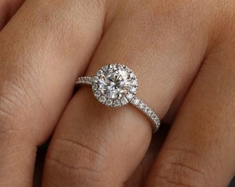1.25 Ct Round Cut White Brown Natural Diamond Wave Promise Band Ring 925 Silver