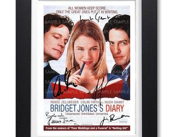 BRIDGET JONES/'S BABY MOVIE POSTER FILM A4 A3 ART PRINT CINEMA