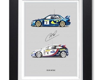 FREE UK POSTAGE Ford RS Evolution Classic Car A4 Poster Print LOOK!