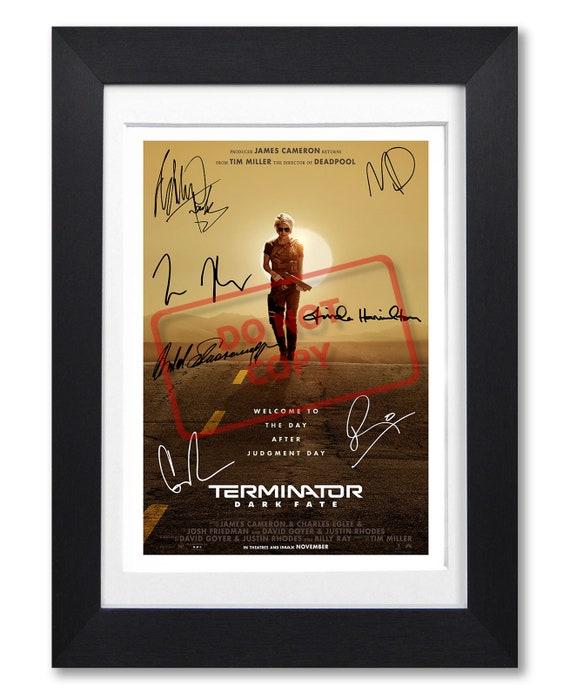 LINDA HAMILTON Signed Autograph PHOTO Gift Signature Print TERMINATOR DARK FATE