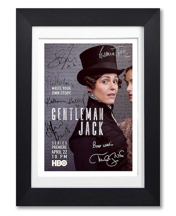 Gentleman Jack TV Show Poster Canvas Art Print Framed Option A3 A4