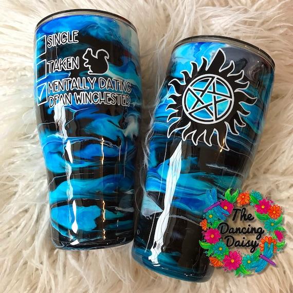 Tumbler 20Oz Tumbler 30Oz Personalized Supernatural Tumbler Tumbler Gift For Birthday