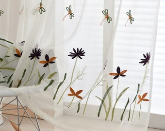 Dragonfly Curtains Etsy