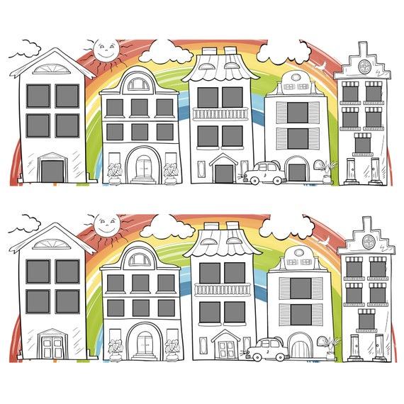 Digitale Box Vorlage 21-24 Box Collage Photoshop-Vorlage ...