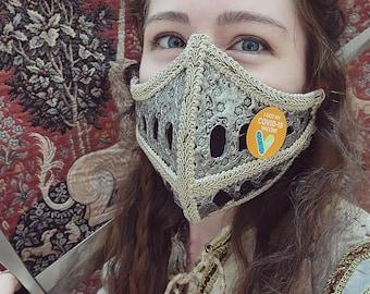 Medieval Visor Face Cover