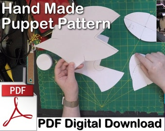Professional Goblin Puppet Pattern -- PDF Digital Download