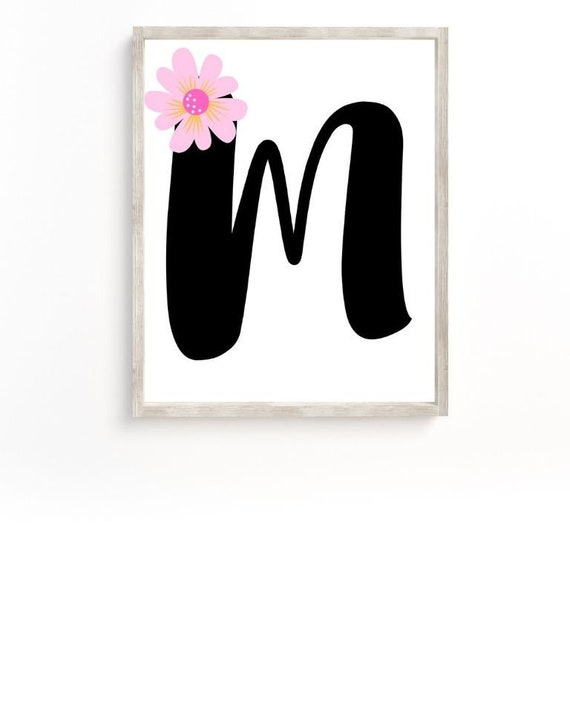 It is a photo of Printable Letter M in traceable
