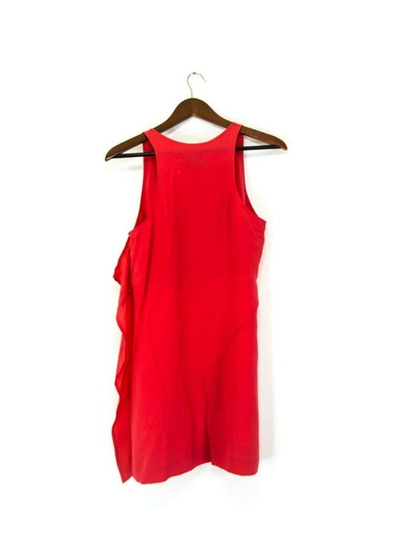 Silk Dress by ACNE Coral Magical Sleeveless Knee length size 38UK8US4