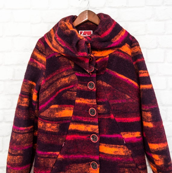 Aventures des Toiles Multicoloured Womens Coat Vi… - image 3