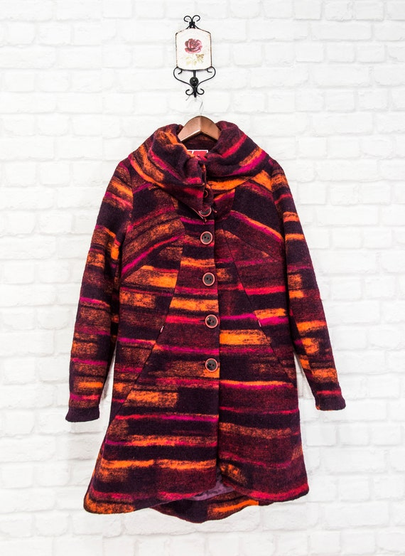 Aventures des Toiles Multicoloured Womens Coat Vi… - image 2